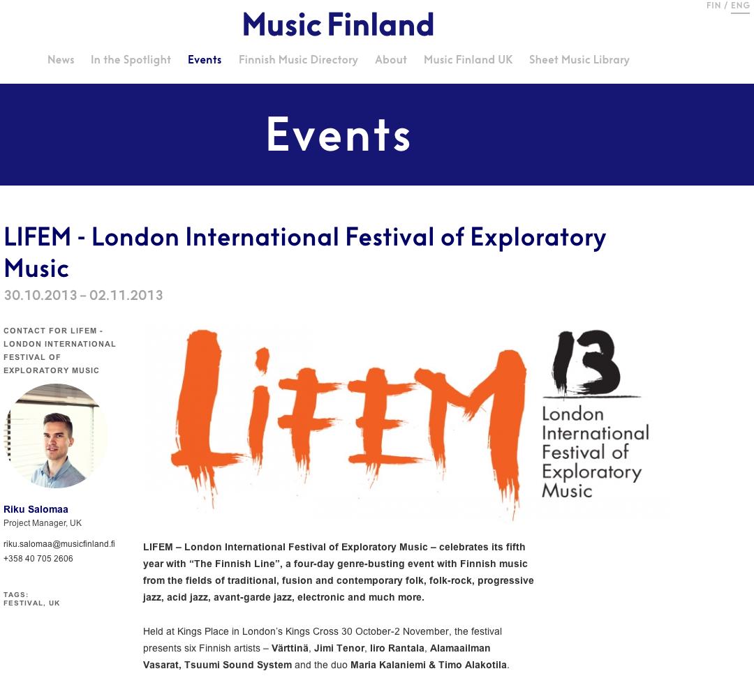 130722 Music Finland 1