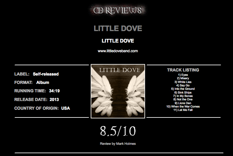 Little Dove reviewed on Metal Discovery